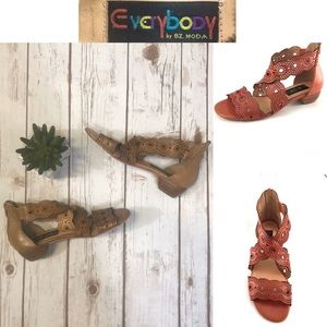 Anthropologie Everybody BZ Moda Gladiator Sandals